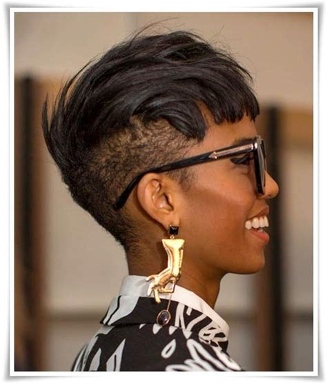 black hair edgy haircuts 72 short hairstyles for black women with images 2018
