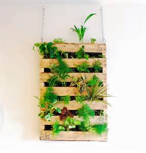 Vertical Garden Indoor Diy Diy Pallet Vertical Garden