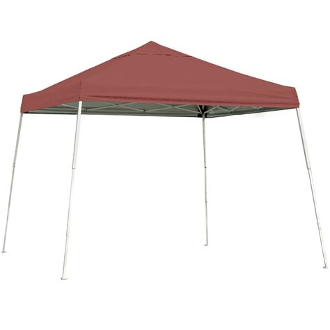Portable Awnings And Canopies by Shelterlogic 12 X 12 Portable Canopy Slanted Leg In Canopies