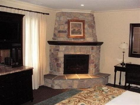 rock fireplace designs bloombety corner stacked stone fireplace designs corner