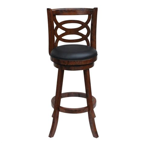 boraam siena 24 quot swivel counter walnut finish bar stool ebay