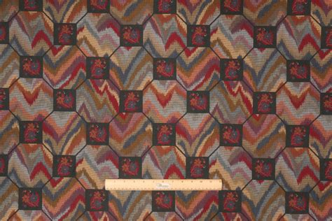 needlepoint upholstery fabric revelson tapestry upholstery fabric in gemstone