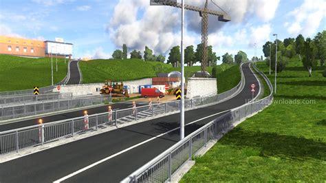 euro truck simulator scandinavia download full version northern scandinavia map v0 96 euro truck simulator 2 mods