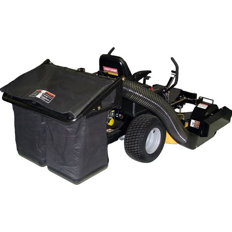 Craftsman Garden Tractor Attachments by Craftsman 42 Quot 2 Bag Collection System Lawn Garden