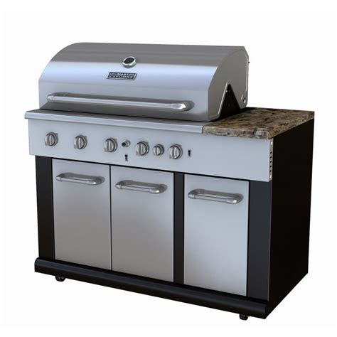 master forge 3 burner modular outdoor sink and side burners master forge bg179a outdoor modular kitchen 5 burner