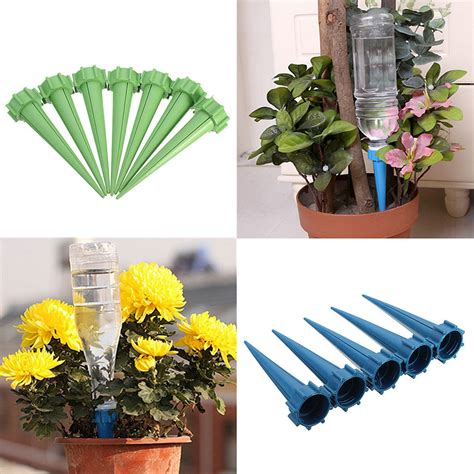 Automatic Watering Irrigation Plant Waterer 4 Pcs Kepala Semprot Air automatic watering irrigation plant waterer 4 pcs kepala semprot air multi color