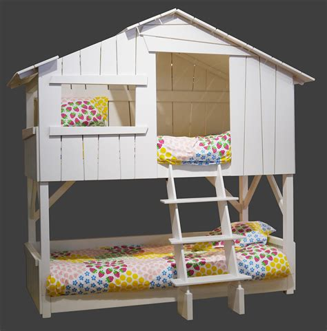 Play House Bunk Beds Playhouse Beds From Mathy By Bols Loft Treehouse Canopy