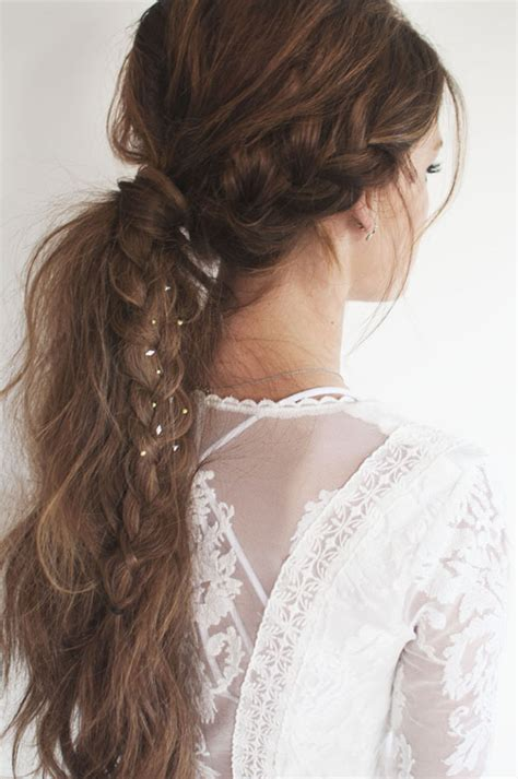 hairstyles braided ponytail 4 gorgeous festival hairstyles crossroads