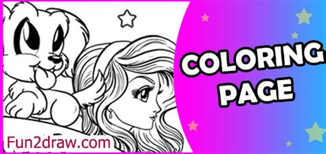 free coloring pages of fun2draw