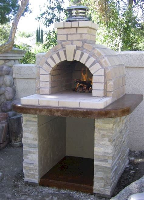 Outdoor Pizza Oven Plans Fireplace by 25 Best Ideas About Outdoor Pizza Ovens On