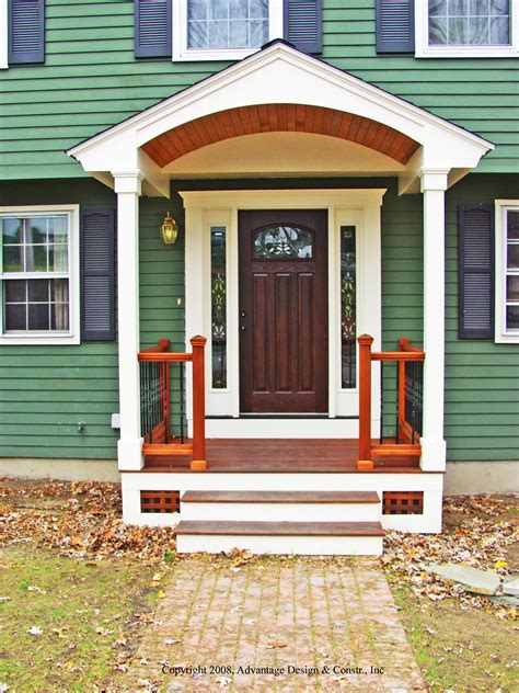 front entrances six kinds of porches for your home suburban boston decks