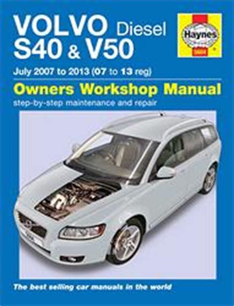 old car manuals online 2007 volvo v50 on board diagnostic system volvo s40 v40 en v50 werkplaatshandboeken onderhoud en reparatie 9