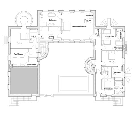 east wing floor plan floor plan large holiday house sleeps 21 dog
