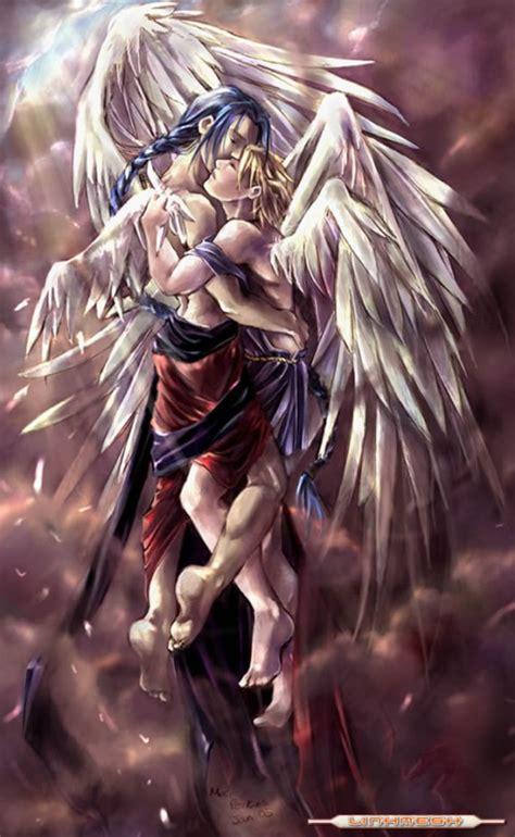 runa de amor de angeles im 225 genes rom 225 nticas de angeles enamorados
