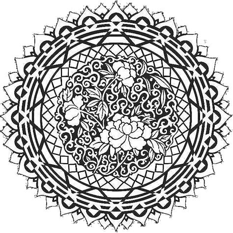easy mandala coloring pages for adults free mandala coloring pages for simple coloring free