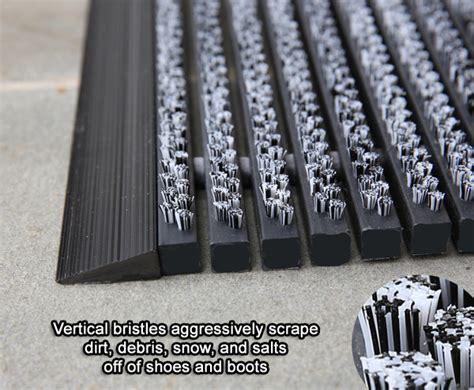 bristle brush entrance mats  american floor mats