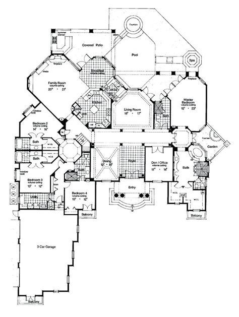 fancy house plans luxury florida home plans luxury modern house floor plans