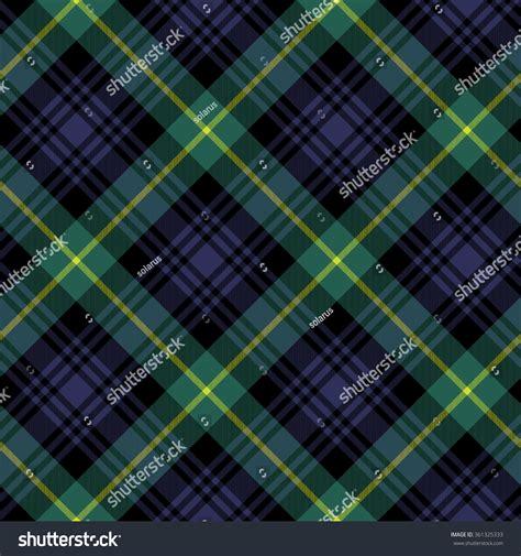 check pattern en francais gordon tartan fabric textile check pattern stock vector