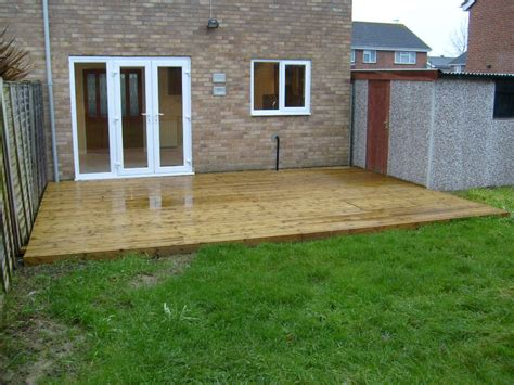 Decking Patio by Decking Patio Areas