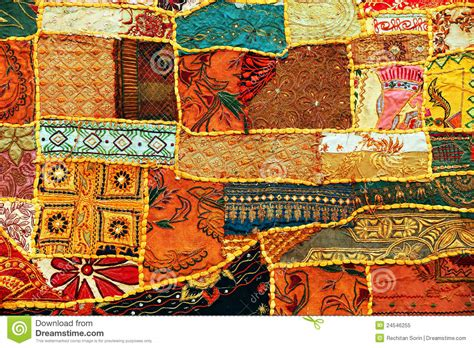 Indian Patchwork - indian patchwork carpet stock image image of asian