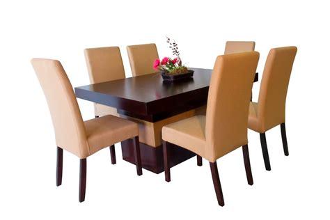 comedor seis sillas tapizadas muebles el angel