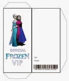 Ticket Envelope Template by Jennuine By Rook No 17 Ticket Style Frozen