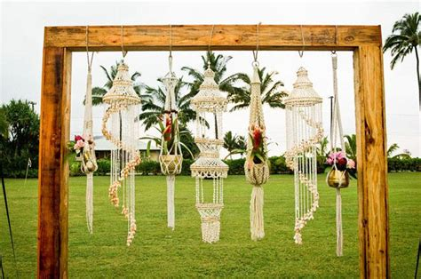 Fabric Covered Chandelier The Ultimate Guide To Unique Outdoor Wedding Ceremony Ideas