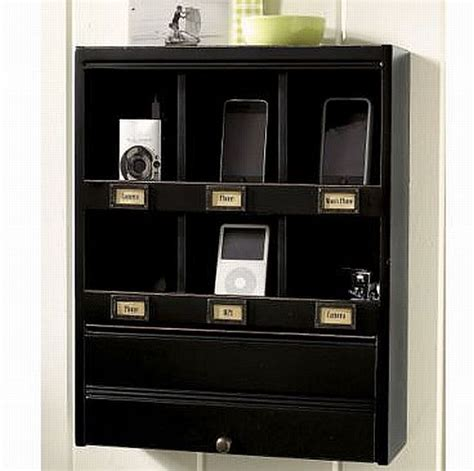 Modern Wall Organizer by Vintage Look Modern Functionality Wall Organizer With