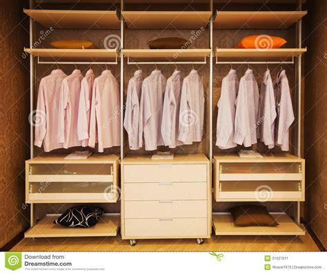 wardrobe stock image image 31027511