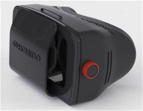 Homido Vr homido launches vr smartphone adapter and sleek app for vr with web browser on ios and