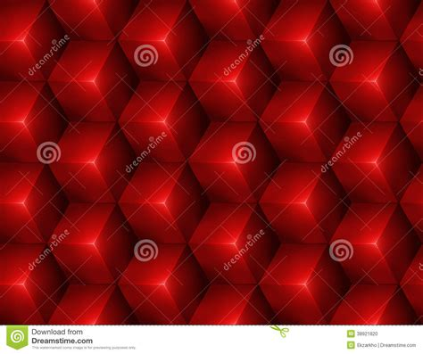 3d abstract seamless background with cubes stock