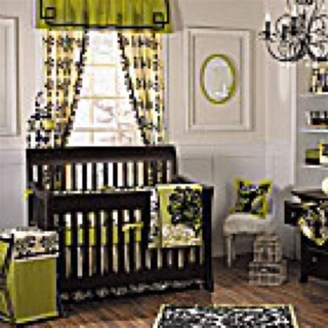 Green And Black Crib Bedding 1000 Images About Lime Green And Black Baby Room On Pinterest Crib Bedding Sets Baby Rooms