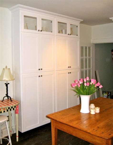 standalone kitchen cabinet stand alone pantry cabinets my pantry i wanted a decent size pantry for storage of food and