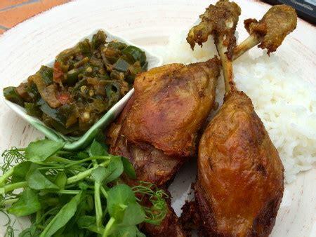 resep bebek goreng sambal ijo resep masakan dapur arie