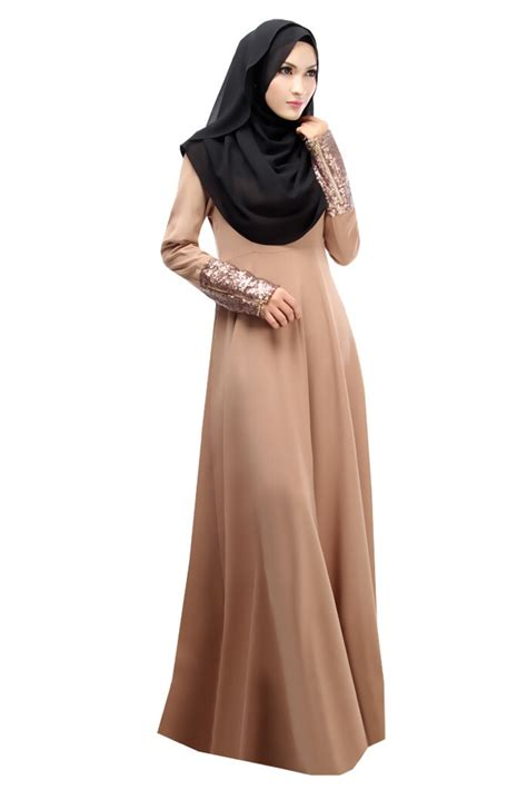 muslimah jubah for dinner dress alicia sequin rm119 only ajumohitdotcom