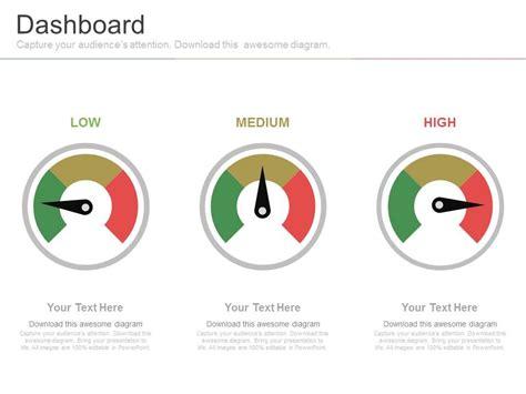 powerpoint design mode speedometer excel
