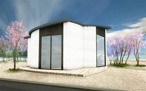 3d house building 3d printhuset breaks ground on 3d printed building in
