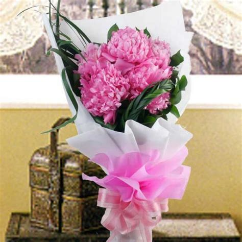 Flower Bouquet Delivery by Peony Flowers Delivery Send Peonies In Singapore