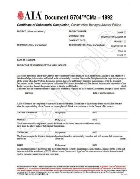General Contractor Contract Template Shatterlion Info Certificate Of Substantial Completion Template