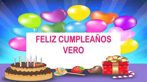 imagenes de happy birthday vero vero wishes mensajes happy birthday youtube