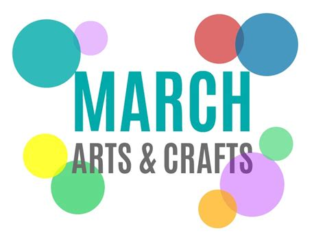 march arts and crafts for seasonal arts and crafts for the month of march march s