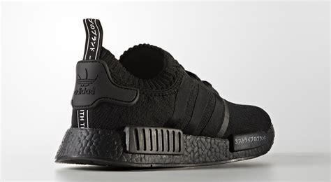 Adidas Nmd Pk Japan Black 1 adidas nmd r1 pk japan pack quot black quot shoe engine