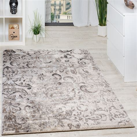 wohnzimmer teppich beige woven carpet modern high quality mottled with floral
