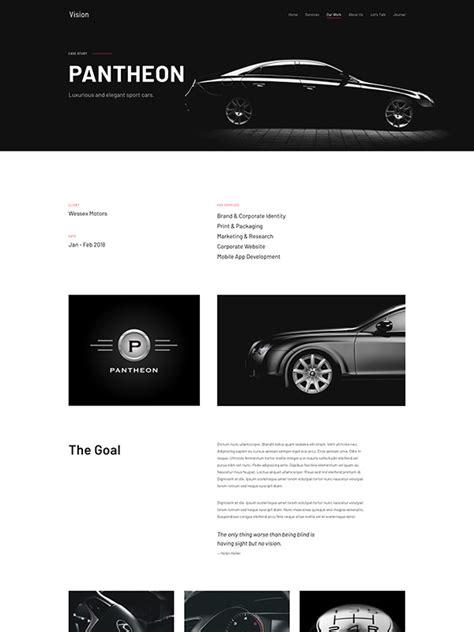 layout vision blog vision theme yootheme