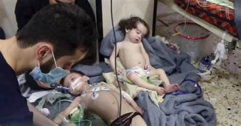china another chemical kills 7 exposed to poison gas at paper mill douma syria photos graphic dozens killed after