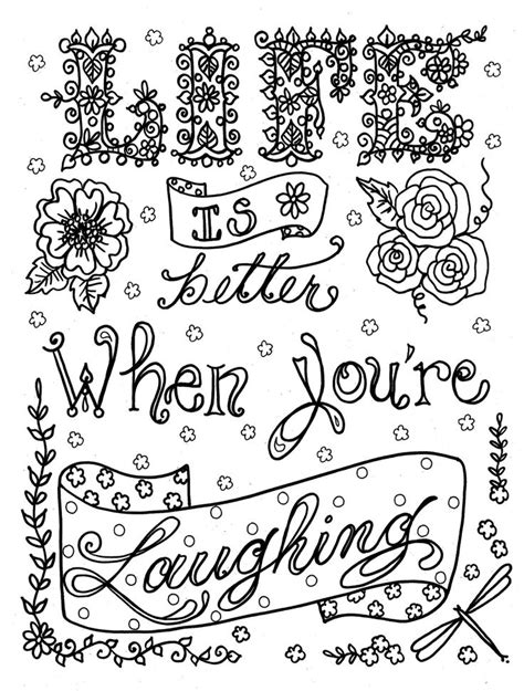 coloring pages for adults with quotes https www etsy listing 154657279 coloring book be