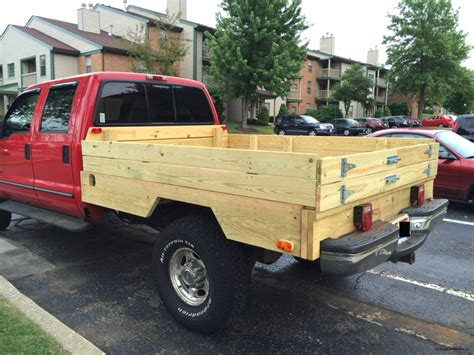 wood truck bed plans photos wood flatbed for pickup truck built the all wood