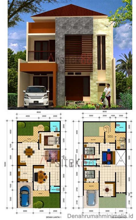 desain rumah minimalis 2 lantai type 36 36 6 21 21 60 45 90 denah desain rumah minimalis