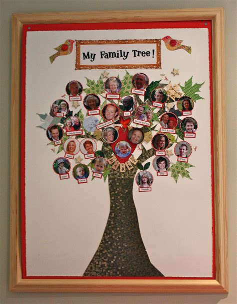 Handmade Family Tree Ideas - family tree