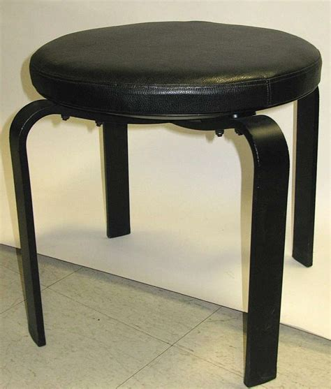 Can Iron Cause Black Stools by Great Pair Of Black Iron Stools With Cushion At 1stdibs